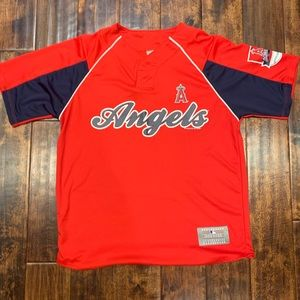 Los Angeles Angels Mike Trout Pullover Jersey Sz M